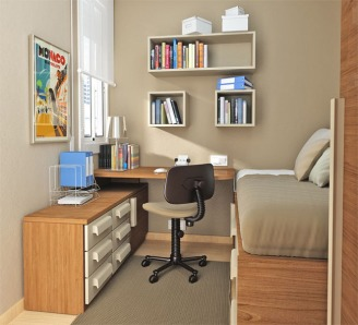 Small-Bedroom-Design-with-Study-Room-Area