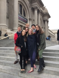 Art History students visited the MET and the Frick in NYC