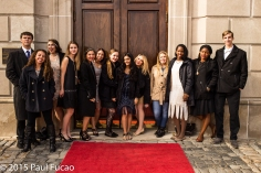 Flappers and Philosophers students explore their inner Gatsby at Oheka Castle
