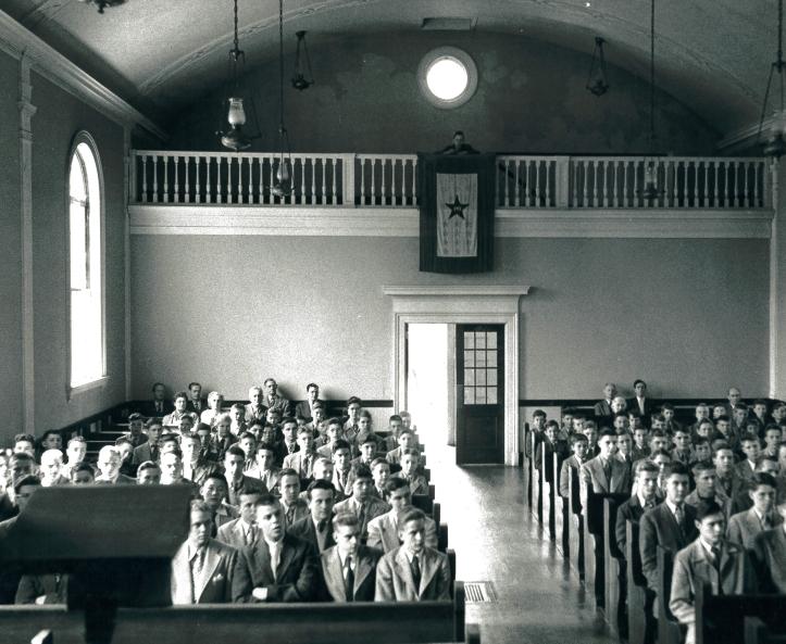 Hegeman Chapel, 1945-1946